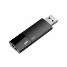 USB флеш 16Gb Silicon Power Ultima U05 Black (SP016GbUF2U05V1K) пластик чорний USB 2.0