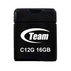 USB флеш 16Gb Team C12G Black (TC12G16GB01) пластик чорний USB 2.0