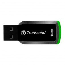 USB флеш, 16 GB, Transcend JetFlash 360 Black Green (TS16GJF360)