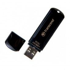 USB флеш, 16 GB, Transcend JetFlash 700 Black (TS16GJF700)