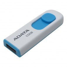 USB флеш 32Gb A-Data C008 White Blue (AC008-32G-RWE) пластик бiлий USB 2.0