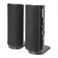 Акустична система 2.0, Defender SPK-210 Black (65210), пластик, Black, 2x2Вт (RMS)