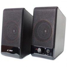 Акустична система 2.0, F&D (U-213A Black), USB, Black, пластик, 2 x 5 Вт (RMS)