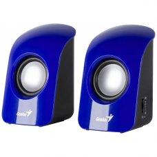 Акустична система 2.0 Genius SP-U115 Blue