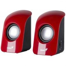 Акустична система 2.0 Genius SP-U115 Red