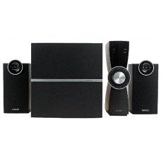 Акустична система 2.1, Edifier C2X Black, саб-деревина/сат-деревина, 35Вт+2x9 Вт (RMS), чорний