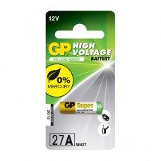 Батарейка GP Alkaline 12.0V,  27A-U1 лужна  A27,  1 шт на блістері  для ПУ