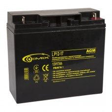 Батарея до ПБЖ, 12В, 17Ач, Gemix (LP12-17)