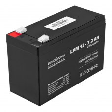 Акумулятор LogicPower AGM LPM 12V 7.2Ah (LP3863)
