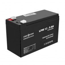 Акумулятор LogicPower AGM LPM 12V 9Ah (LP3866)
