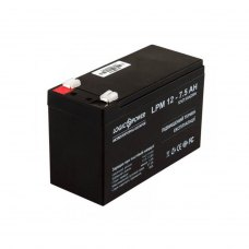 Акумулятор LogicPower AGM LPM 12V 7.5Ah (LP3864)