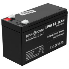 Акумулятор LogicPower AGM LPM 12V 8Ah (LP3865)