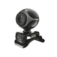 Веб-камера Trust Exis Webcam Black-Silver (17003)