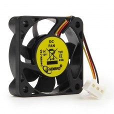 Вентилятор 40x40x10мм, sleeve, кабель 70мм Gembird D40SM-12A