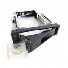 Внутрішня кишеня 5,25, Maiwo (M002A), для HDD 3.5 SATA з замком, чорний