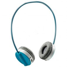 Гарнітура бездротова, Rapoo Wireless Stereo Headset H3050 Blue, радіо, USB-нано ресівер, вбуд.мікрофон, провід/безпровід режим до 6 годин