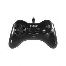 Геймпад дротовий, Defender Game Master G2 USB Black (64258)