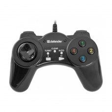 Геймпад дротовий, Defender Vortex USB Black (64249)