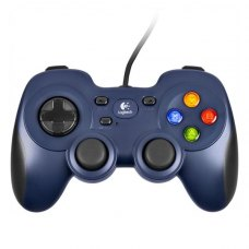 Дротовий геймпад Logitech F310 PC Black/Blue (940-000135)