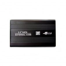 Зовнішня кишеня 2,5, Grand-X (HDE21), алюміній, HDD SATA, без БЖ, 1xUSB2.0