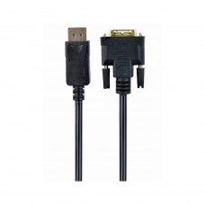 Кабель DisplayPort вилка/DVI вилка, 1м Cablexpert CC-DPM-DVIM-1M