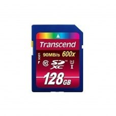 SDXC карта 128Gb Transcend Ultimate class10 UHS-1 (TS128GSDXC10U1)