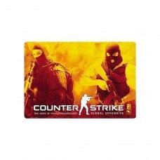 Килимок ігровий, Podmyshku Counter strike, матерчата поверхня, 320x220мм, 3мм