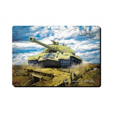 Килимок ігровий, Podmyshku Танк ИС-3, матерчата поверхня, 320x220мм, 3мм