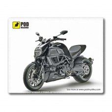 Килимок пластиковий, PODMYSHKU Ducati Diavel, 240x190х2мм