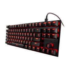 Клавіатура дротова, Kingston HyperX Alloy FPS Pro Cherry MX Red USB Black (HX-KB4RD1-RU/R1)