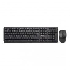 Комплект бездротовий (клавіатура+мишка), Defender Harvard C-945 Black, (45945) чорний