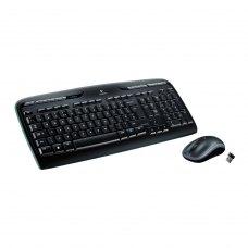 Комплектбездротовий(клавіатура+мишка),LogitechMK330Blackрадіо(920-003995),USB-наноUnifying,Black,RTL