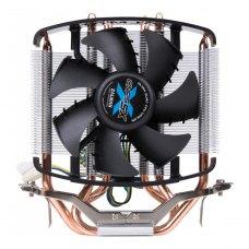 Кулер до CPU Zalman CNPS5X Performa 775/1155/1156/AM2/AMA/M2+, 20-32 Дб, 1400-2800 Об/хв, алюміній + мідь, PWM