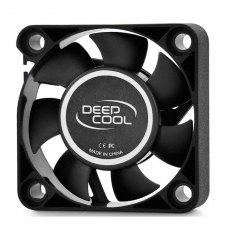 Кулер до корпусу 40мм, DeepCool XFAN 40, 40x40х10мм, HB, 4500об/хв, 24.3дБ, 3pin+4pin, чорний