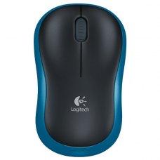 Мишка бездротова Logitech M185 радіо (910-002239) Blue/Black