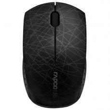 Мишка бездротова, Rapoo 3300p Black, бездротова (радіо), USB-нано, USB, BOX, оптична