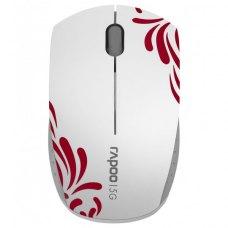 Мишка бездротова Rapoo 3300p White/Red