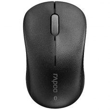 Мишка бездротова, Rapoo 6010B Black, бездротова (bluetooth), USB-нано, USB, BOX, оптична