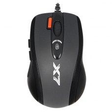 Мишка дротова A4Tech X-710BK Black