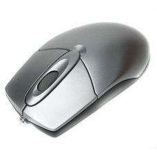 Мишка дротова, A4Tech (OP-720 USB), стандартна, оптична 800dpi, 2кн+1кол, Silver
