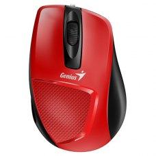 Мишка дротова Genius DX-150X (31010231101) Red/Black