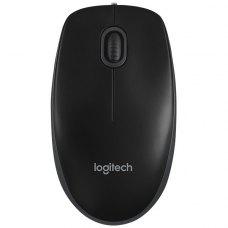Мишка дротова Logitech B100 (910-003357) Black