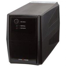 ПБЖ, 525VA, LogicPower LPM-525VA-P (3170), line interractive, 367вт, батарея 1х12В/7,5Ач, пластик, чорний