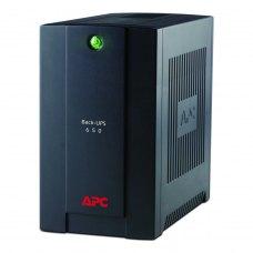 ПБЖ, APC Back-UPS RS 650VA (BX650CI-RS), line interractive, Класичний, 650 В*А, 390 Вт, 160 до 286 В, апроксимована синусоїда, 14.1 мін, 3/1, RJ-11, е
