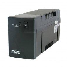 ПБЖ, Powercom (BNT-1000AP USB Schuko), line interractive, класичний, 1000В*А, 600Вт, 155 до 275В*апроксимована синусоїда, 6.7мін, 4/0, RJ45/RJ-11, 2-4