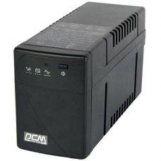 ПБЖ, Powercom (BNT-600AP USB), line interractive, класичний, 600В*А, 360Вт, 155 до 275В*апроксимована синусоїда, 5мін, 2/0, 2-4, RS-232/USB, 135х97х32