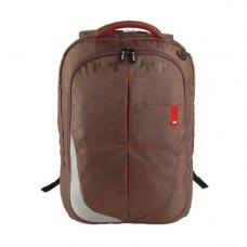 Рюкзак для ноутбука 15,6 CROWN Genuine (BPG4415BN) коричнева, нейлон