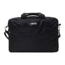 Сумка для ноутбука  17 чорна з карманом LOBSTER (LBS17T1BP)