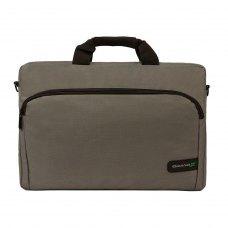 Сумка для ноутбука 15.6'', Grand-X SB-129 Grey (SB-129G), Ripstop нейлон, зовн. 405х280х35мм, сірий