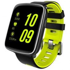 Смарт-годинник SmartYou X1 Sport Black/Green (1.54'' HD 240x240, MTK2502, 32МБ/ 32МБ,BT4.0, Android и IOS, 350 mAh)
